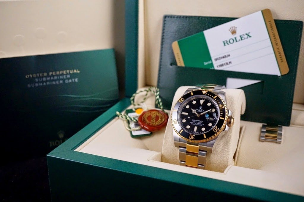 Having the box and papers for the used Rolex you are selling in San Diego increases the value of your watch.